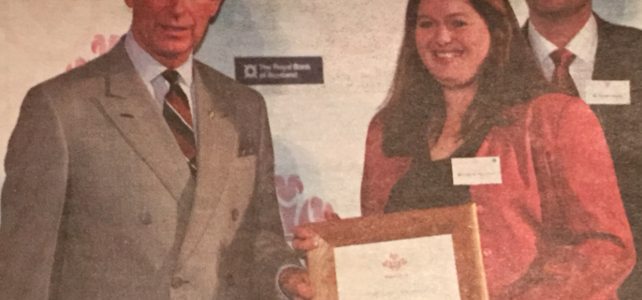 Throwback to meeting Prince Charles!